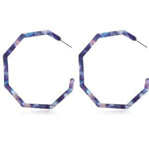 Jewelry - Cute Resin Hoops